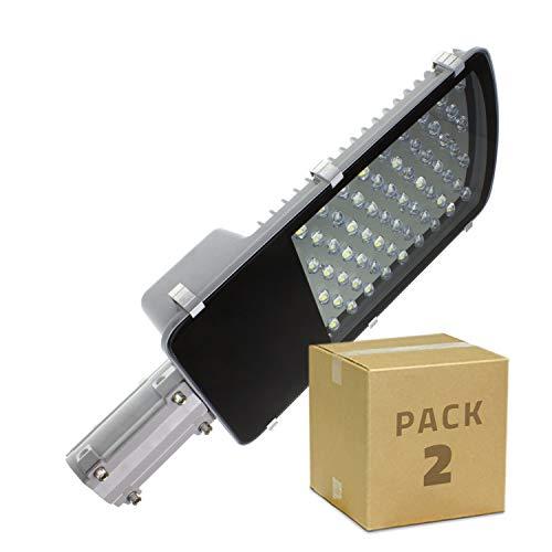 LEDKia - Lampada LED Brooklyn 40 W (2 unità) Blanc Froid 6000k