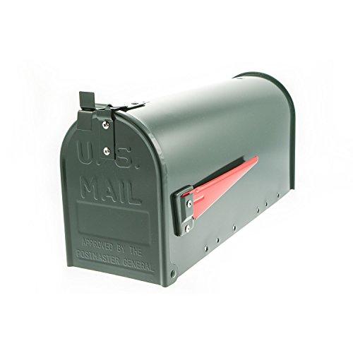 G2 Trading Company 083 Mississippi USA '- US Mailbox-Briefkasten, Stahl, Grün