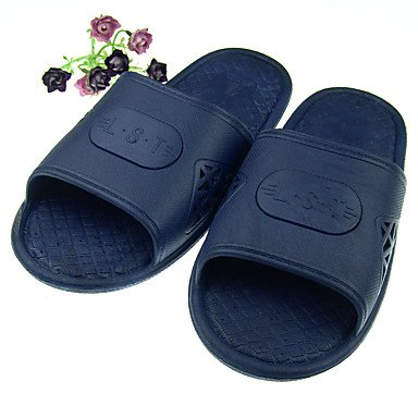 Unisex Slippers & amp;Casual tallone piano sandali blu scuro Rosso piatti Comfort PVC estive sandali US10.5 / EU42 / UK8.5 / CN43
