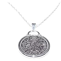 Cinch Pendant 1958 Lucky sixpence 60th Birthday plus a Sterling Silver 20in Chain