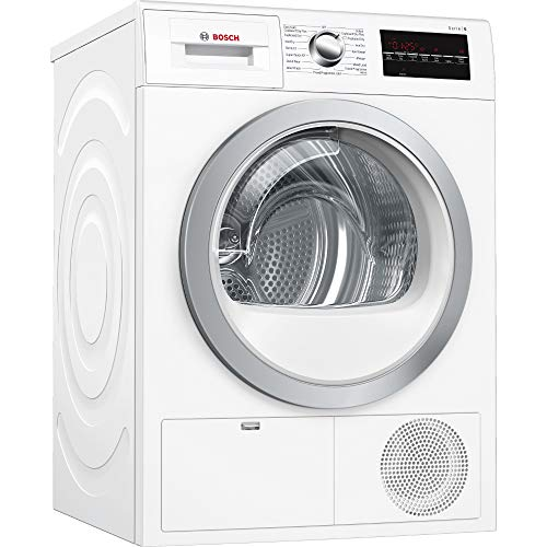 Bosch WTG86402GB Freestanding B Rated Condenser Tumble Dryer - White