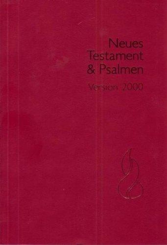 Schlachter N.T. & Psalmen: Schlachter 2000, Grossdruckausgabe, Broschiert, Rot