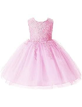 WanYang Niñas Vestido Sin Mangas Princesa Boda Del Vestido De Partido Del Traje De Boda Vestidos De Ceremonia