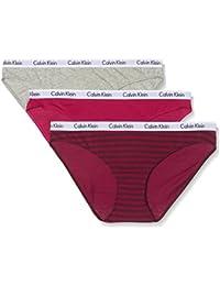 Calvin Klein, Braguita para Mujer (Pack de 3)