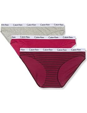 Calvin Klein Damen Bikinislip, 3er Pack