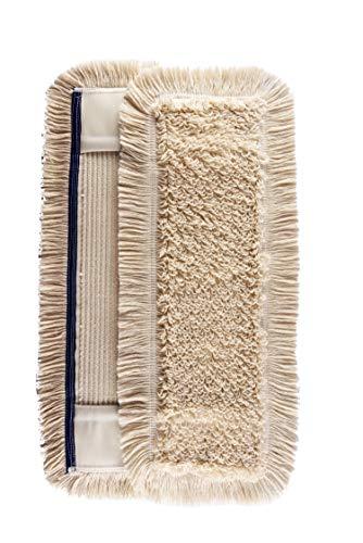 Thometzki 2 x Wischmopp 40 cm - Parkettmopp - Wischbezug zur Echtholz Trocken und Nass Bodenpflege - Bodenwischer für Parkett Dielen Laminat & Fliesen