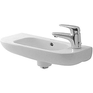 Duravit 07065000082 D-Code Hand rinse Basin, White by Duravit