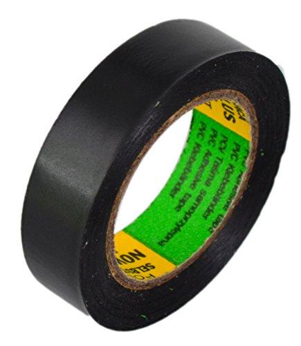 Isolierband 5 Rollen Länge:10m Breite:15mm schwarz Isoband Elektroinstallation erfüllt VDE, ÖVE und SEV