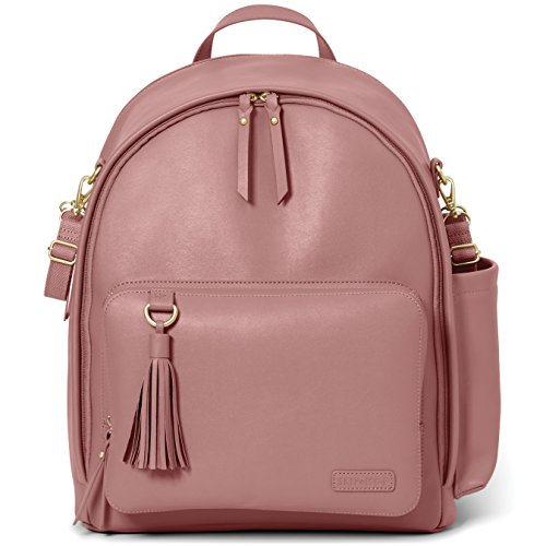 Skip Hop Greenwich Simply Chic Rucksack , Rosa (Dusty pink)