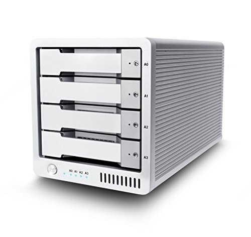 T4 (8TB) - Thunderbolt 2 Professioneller RAID 0, 1, 5, JBOD External Hard Drive
