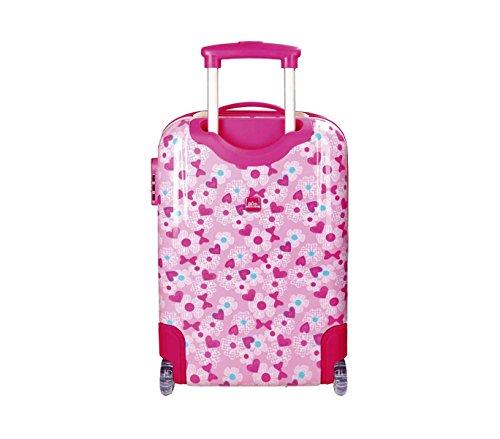 41Eo5eAcfPL - 2890351 Maleta trolley rigida en ABS equipaje de mano MINNIE MOUSE 42x67x24cm
