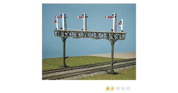 Ratio 271 Pratt Truss Signal Gantry Kit to span two tracks