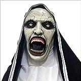 ZhiWei Halloween Maske Horror Scary Vollkopf Maske Cosplay Kostüm Latex Maske für Erwachsene Party Dekoration Requisiten,B
