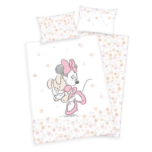 3 piezas. Ropa de cama para bebé/niños, diseño de Minnie Mouse con...
