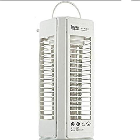 Choc électrique anti-moustique lampe maison sans rayonnement Mute intérieur moustique anti-moustique anti-moustique , white