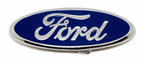 Ford Gürtelschnalle - Blau Oval Abzeichen Logo - Offiziell Lizenziertes Produkt