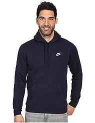 Nike M NSW Hoodie PO FLC Club - Sudadera para hombre, color azul, talla M