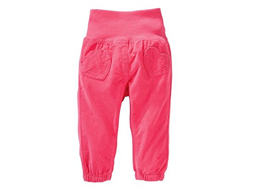 Baby Mädchen Cordhose Cord Hose (86, pink)