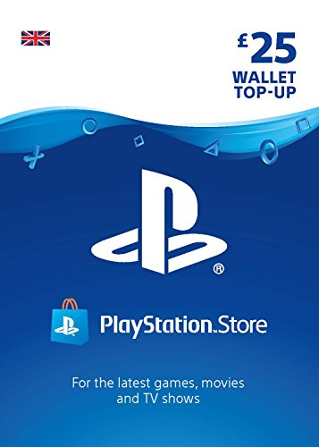 Compare PlayStation PSN Card 25 GBP Wallet Top Up | PSN Download Code - UK account prices