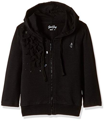 Gini & Jony Baby Girls' Jacket (122090660542 1296_Caviar_9-12 months)