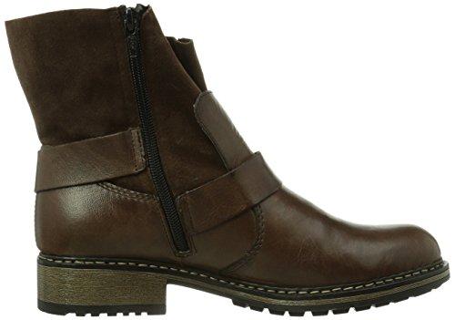 Rieker Z6862-25, Boots femme Marron (Nougat/Kakao/25)