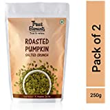 True Elements Roasted Pumpkin Seeds Salted Crunch (Pack of 2, 250g) (125g x2)