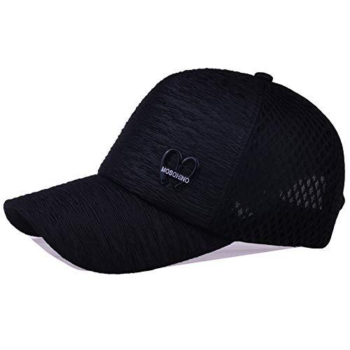 zhuzhuwen Damenhüte, vielseitige Plissee-Mütze, Freizeithut, Mesh, touristische Baseballkappe 1 verstellbar (Cupcakes Für Tupperware)