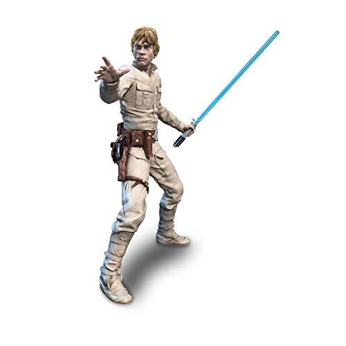 Star Wars The Black Series Imperium schlägt zurück Luke Skywalker Figur, 20 cm große Action-Figur (- Action-figuren)