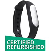 (CERTIFIED REFURBISHED) Xiaomi Mi Band Smart Wristband for Android, iPhone and Other Smartphones (Black)