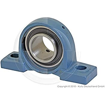 KP005 25mm perfk Foro Blocchetto di Cuscino di Cuscinetto a Sfere Montato Kit Supporto in Metallo Accessori