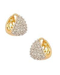 Youbella Gold-Plated Hoop Earrings For Women/Girls