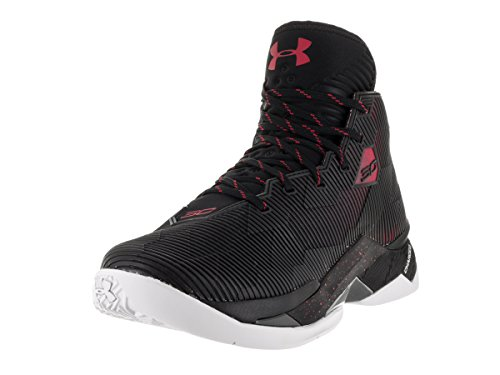 Under Armour Sc30 Topgame multicolore, chaussures de basketball homme Blk-Red-Ele