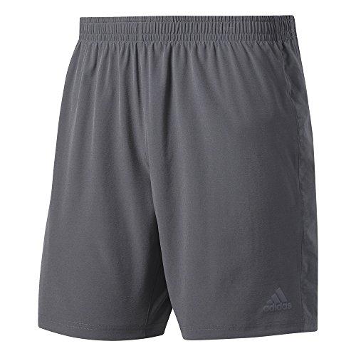 Adidas Supernova Running Short (adidas Herren Supernova Shorts, Grey Five, L/5 Zoll)