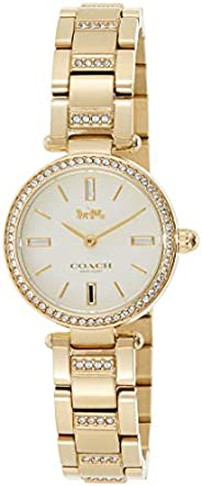 Coach Womens Quartz Watch, Analog Display And Stainless Steel Strap 14503098