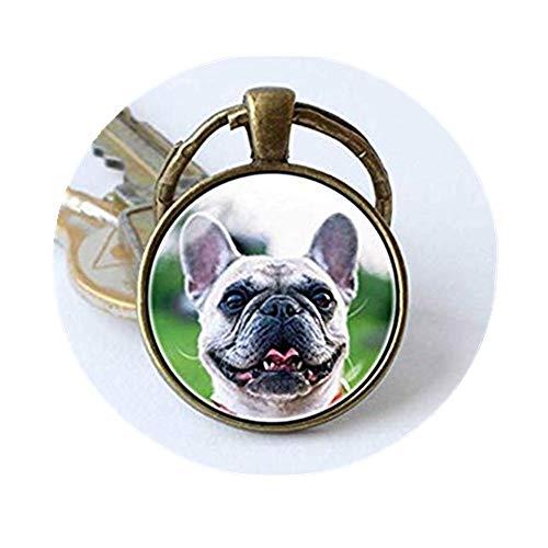 we are Forever family Bulldog Porte-clés, Porte-clés Bulldog, Bouledogue français Bulldog Dog Porte-clés, Porte-clés, Bijoux, Bulldog, Cadeau, Un Porte-clés pour Animal Domestique
