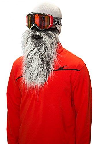 Beardski Biker Skimaske mit Bart - Bart-maske
