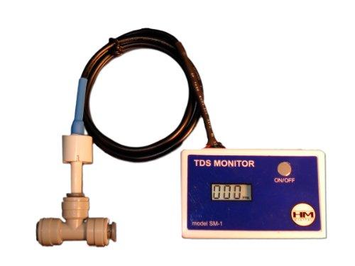 HM Digitale HM-DIGITAL-SM-1 In-Line TDS Monitor f-r Einzel-Water Line F/ Einzel