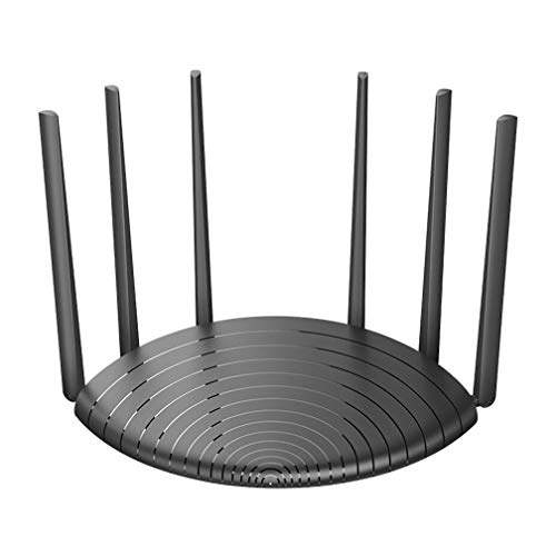 Modem Router WiFi AC1200 Dual Band Smart WiFi Router con, Copertura Fino A 90 M² E 20 Dispositivi,Router Via Cavo Ad Alta...