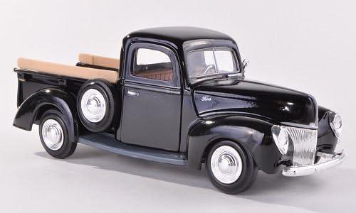 Ford Pick Up, noire, 1940, voiture miniature, Miniature déjà montée, Motormax 1:24 | 2019