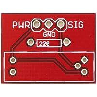 STAMPATO PER GP1A57 - Circuito stampato realizzato appositamente per il photo interruttore a forcella GP1A57 - Componenti Forcella