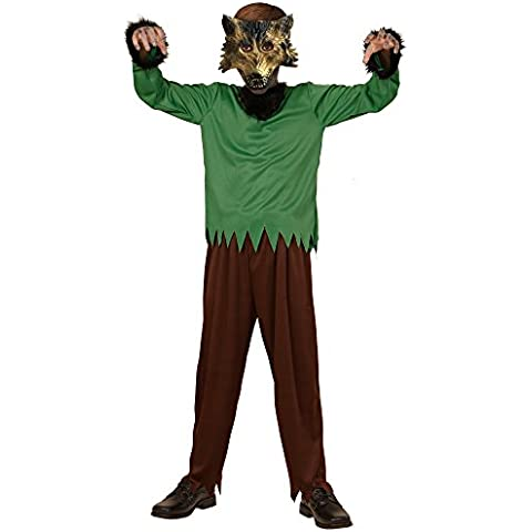 Widmann WDM00237 - Costume Per Bambini Uomo Lupo (140 cm/8-10