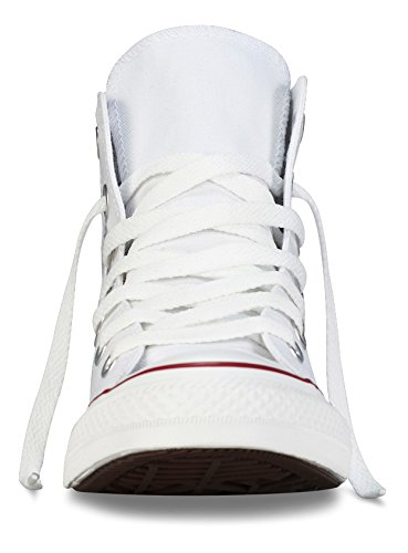 Converse Converse Sneakers Chuck Taylor All Star M7650, Unisex-Erwachsene Hohe Sneakers, Weiß (Optical White), 43 EU (9.5 Erwachsene UK) -