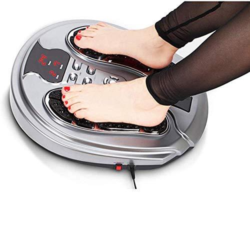 Massaggiatore biologica electron saluto del piede, multi-funzione macchina a raggi infrarossi di massaggio del piede con pad elettrodi per tutte le età che persone