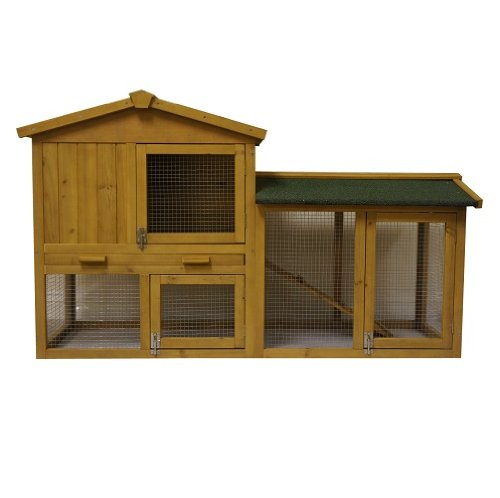 4.82 FT LARGE NEW INDOOR OUTDOOR WOODEN RABBIT HUTCH, CAGE HOUSE HUTCHES FERRRET GUINEA, - NO DELIVERY TO N. IRELAND, C. ISLANDS - IV, KA, KW, PA, PH, ZE, HS, IM, TR - POST CODES AREAS Test
