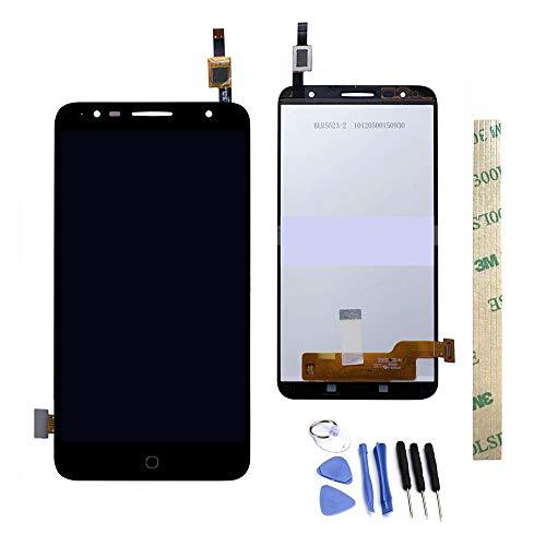 Dr.Chans LCD-Display Touchscreen Digitizer für Alcatel Pop 4+ 5056M 5056N 5056W OT 5056 5056A 5056D Schwarz