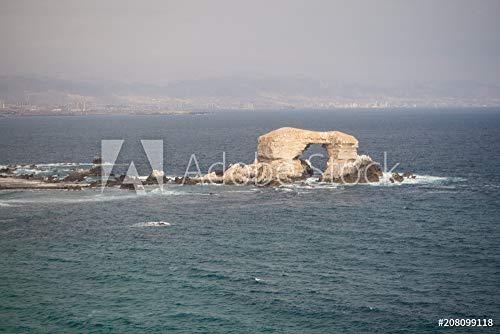druck-shop24 Wunschmotiv: La Portada, Stones Arch in Antofagasta, Chile #208099118 - Bild als Foto-Poster - 3:2-60 x 40 cm / 40 x 60 cm (Foto Portada De)