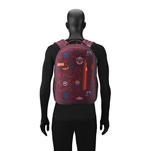Best college bags for girl in flipkart in India 2020 American Tourister Trafford 34 Ltrs Red Casual Backpack (FR0 (0) 00 101) Image 5