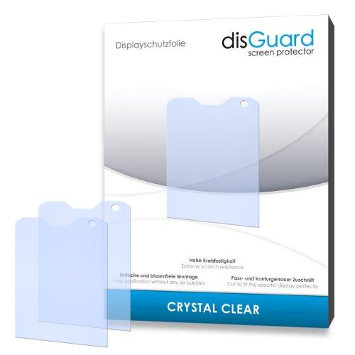 disGuard® Bildschirmschutzfolie [Crystal Clear] kompatibel mit Caterpillar Cat B100 [4 Stück] Kristallklar, Transparent, Unsichtbar, Extrem Kratzfest, Anti-Fingerabdruck - Panzerglas Folie, Schutzfolie