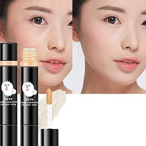 TWBB_Crayon Correcteur Stick correcteur Imperfections Hide The Blemish modifié Maquillage pour Le Visage défectueux Couvrant Les cernes - Natural