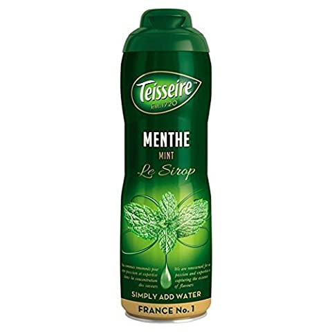 Mint Teisseire Concentrated Mint Syrup for drinks, sodas, and flavoring